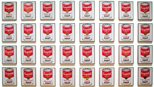 Campbells soup cans moma1